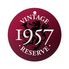 Vintage Reserve 1957 Ornament (Round)