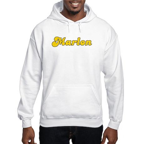 Retro Marlon (Gold) Hooded Sweatshirt