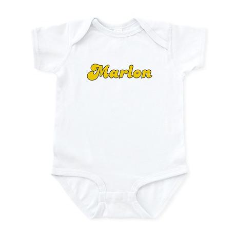 Retro Marlon (Gold) Infant Bodysuit