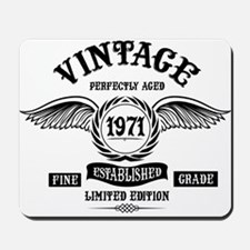 Vintage Perfectly Aged 1971 Mousepad