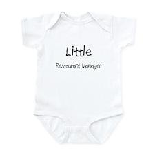 Little Restaurant Manager Infant Bodysuit