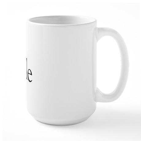 I Love Scrapple (new) Large Mug