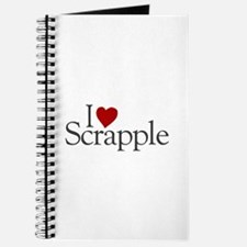 I Love Scrapple (new) Journal