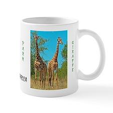 Pair of Giraffes Small Mug