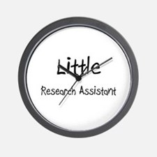 Little Research Assistant Wall Clock