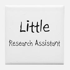 Little Research Assistant Tile Coaster