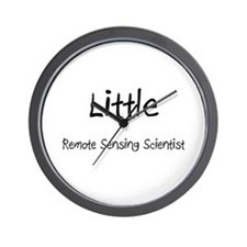 Little Remote Sensing Scientist Wall Clock