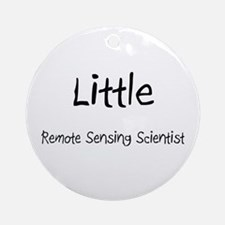 Little Remote Sensing Scientist Ornament (Round)