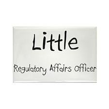 Little Regulatory Affairs Officer Rectangle Magnet