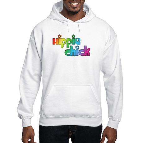 Hippie Chick Hooded Sweatshirt
