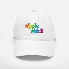 Hippie Chick Baseball Baseball Cap