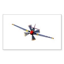 P-51D Mustang Rectangle Decal