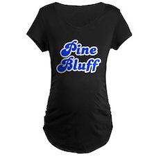 Retro Pine Bluff (Blue) T-Shirt