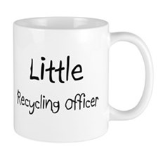 Little Recycling Officer Mug