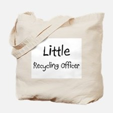 Little Recycling Officer Tote Bag