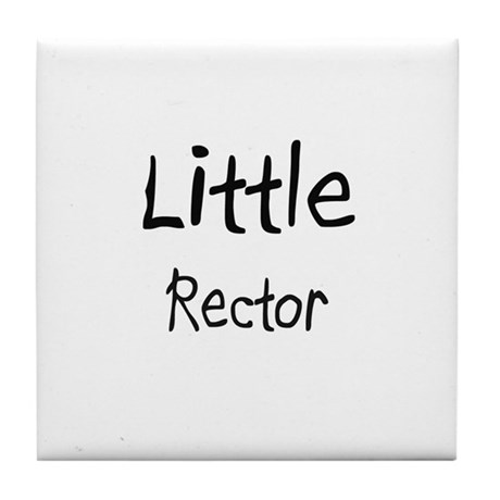 Little Rector Tile Coaster