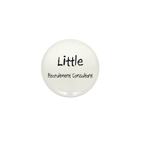 Little Recruitment Consultant Mini Button (10 pack