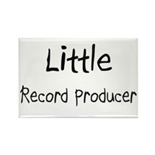 Little Record Producer Rectangle Magnet