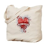 Heart Taxi Driver Tote Bag
