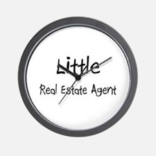 Little Real Estate Agent Wall Clock