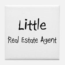 Little Real Estate Agent Tile Coaster