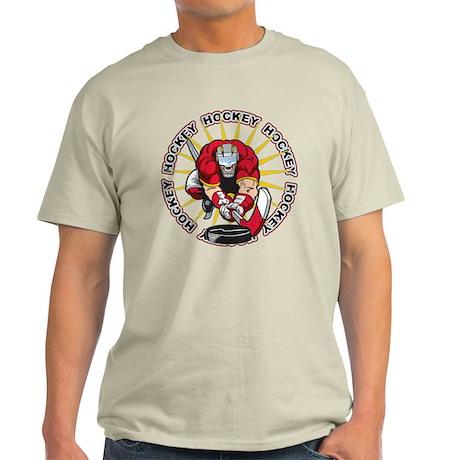 Insane Hockey Player Light T-Shirt