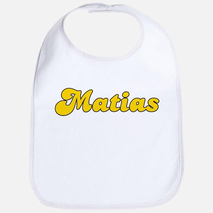 Retro Matias (Gold) Bib