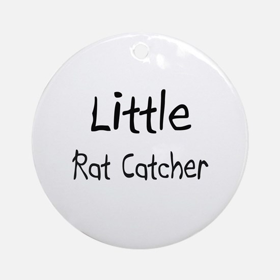 Little Rat Catcher Ornament (Round)