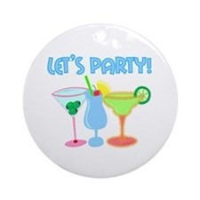 Let's Party! Ornament (Round)