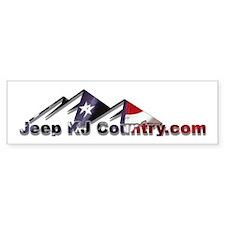 Jeep KJ Country Bumper Bumper Sticker