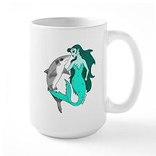 Mermaid and Shark Mug