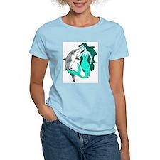 Mermaid and Shark T-Shirt