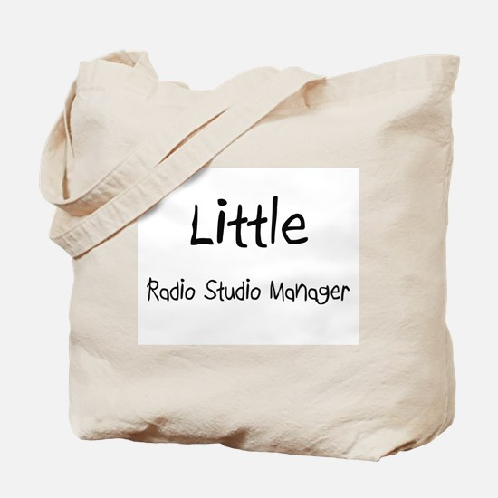 Little Radio Studio Manager Tote Bag