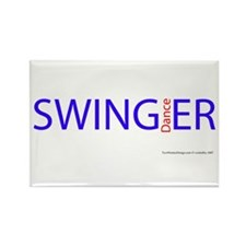 All Swing Dances Rectangle Magnet