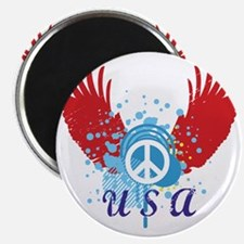 USA Peace Magnet
