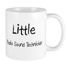 Little Radio Sound Technician Mug
