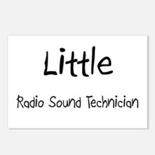 Little Radio Sound Technician Postcards (Package o