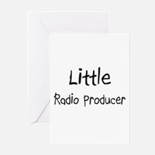 Little Radio Producer Greeting Cards (Pk of 10)