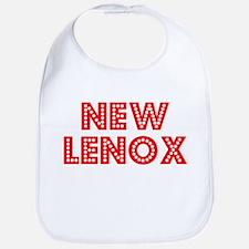Retro New Lenox (Red) Bib