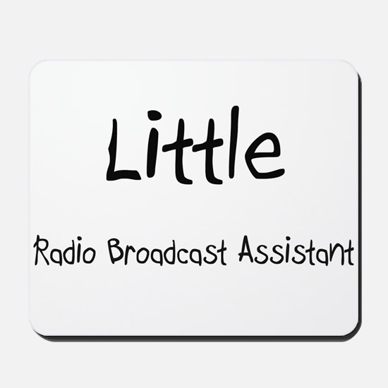 Little Radio Broadcast Assistant Mousepad