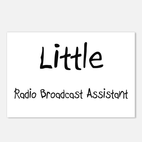 Little Radio Broadcast Assistant Postcards (Packag