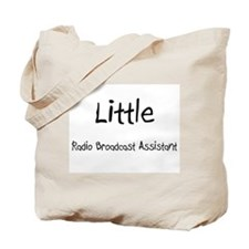 Little Radio Broadcast Assistant Tote Bag