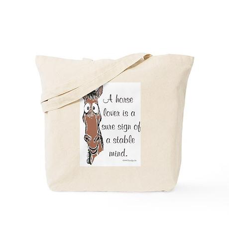 Bay Horse Lover Tote Bag