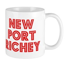 Retro New Port Ric.. (Red) Mug