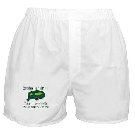 Empty Double Wide Boxer Shorts