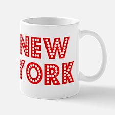 Retro New York (Red) Mug