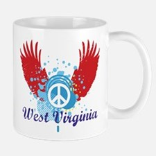West Virginia Peace Mug