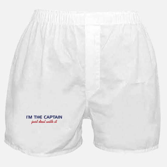 I'm The Captain, Just Deal Wi Boxer Shorts