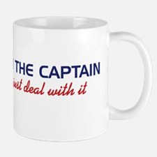 I'm The Captain, Just Deal Wi Mug