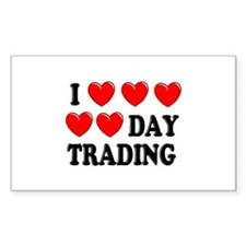 Day Trading Rectangle Decal